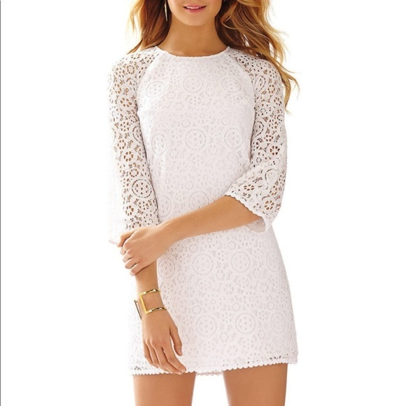 Lilly Pulitzer Dresses & Skirts - Lilly Pulitzer Rylee Lace Shift Dress